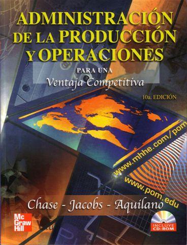 libro administracion de operaciones chase pdf