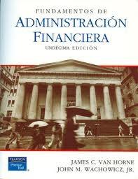 fundamentos de la administracion financiera