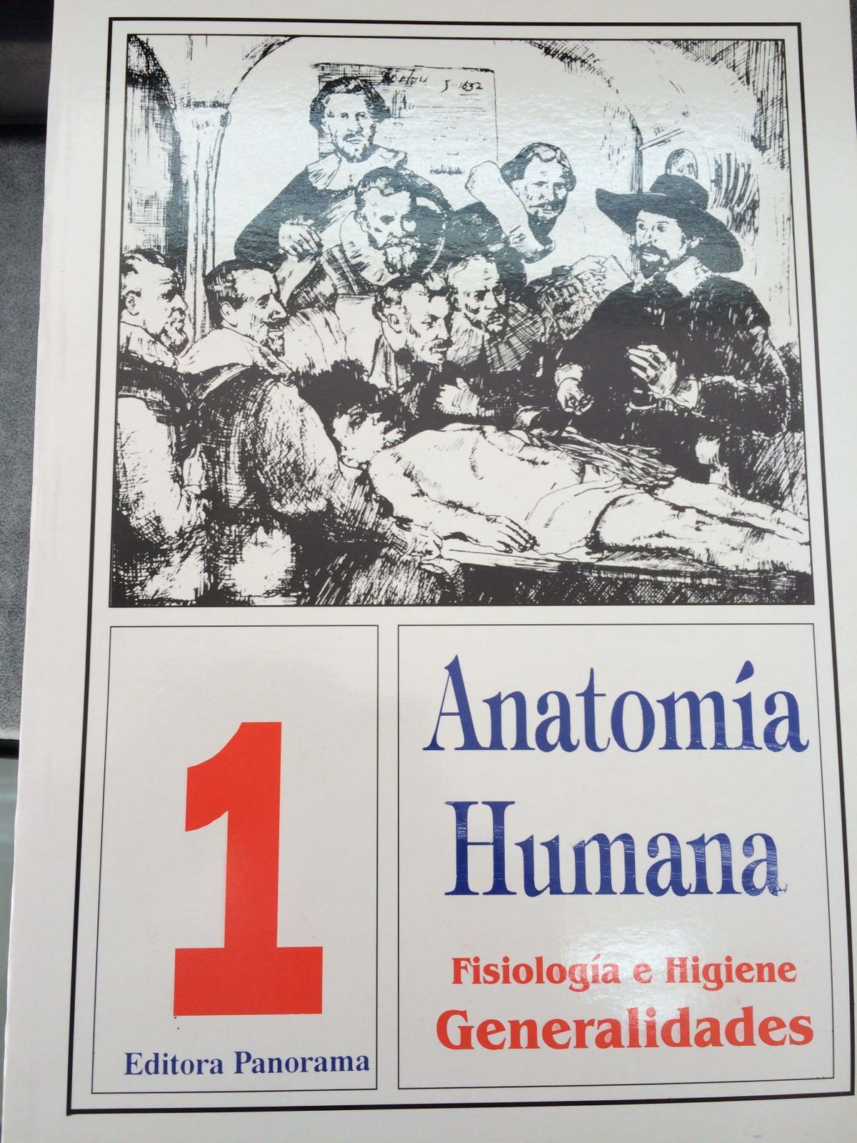 ANATOMIA HUMANA. FISIOLOGIA E HIGIENE. GENERALIDADES – Cedisa Libros